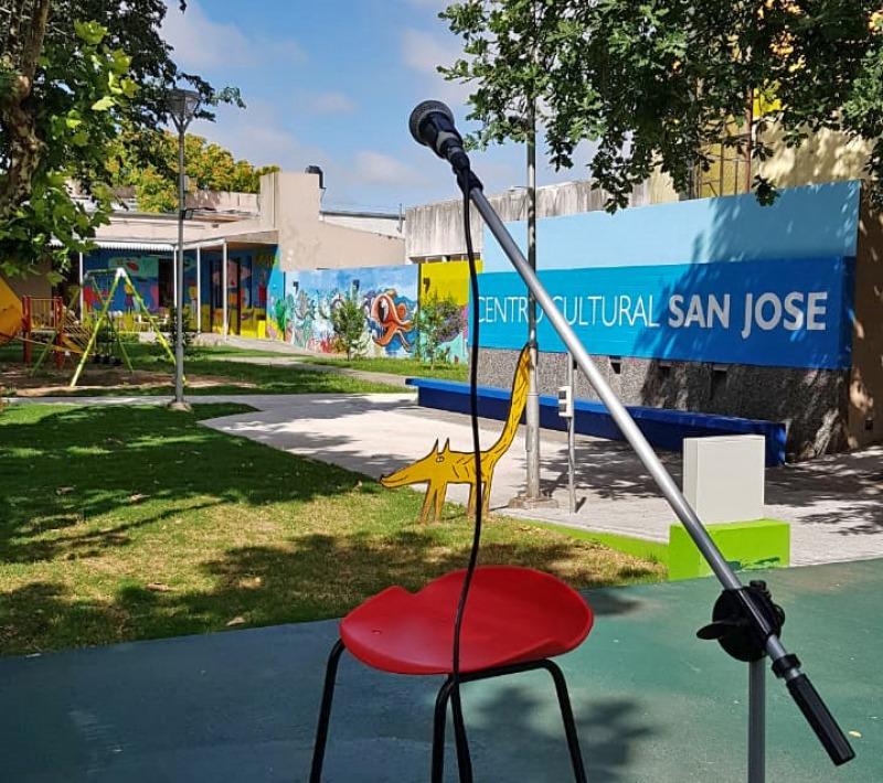 Micrófono abierto en el Centro Cultural San José
