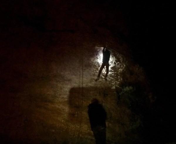 Séance d'escalade de nuit à Vertus !