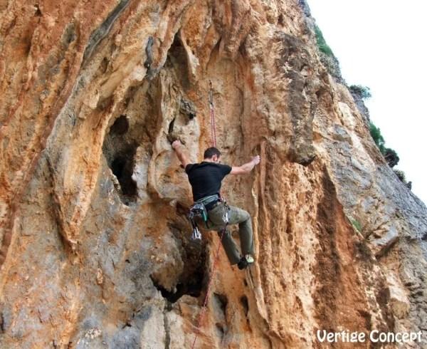 Escalade à Kalymnos