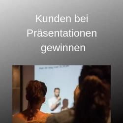 Kunden bei Präsentationen gewinnen