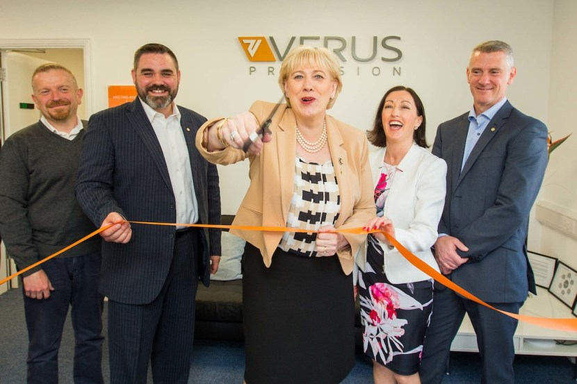 Minister Humphries Visit - Launch - Verus Metrology Partners