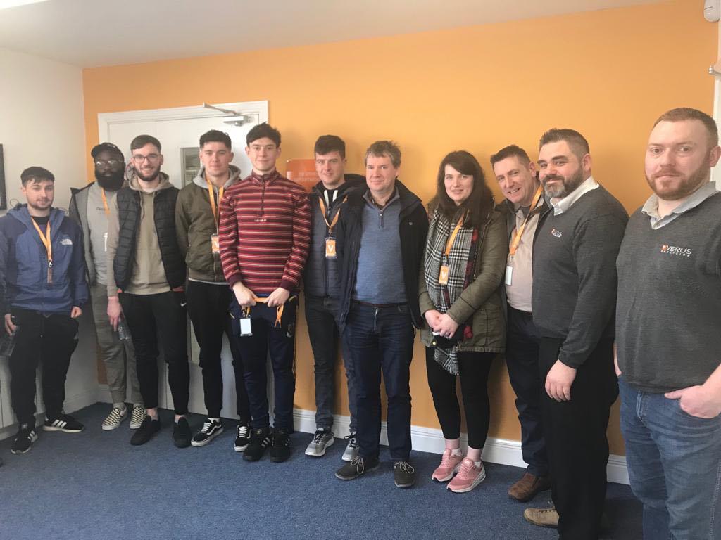 Industrial Students from IT Sligo