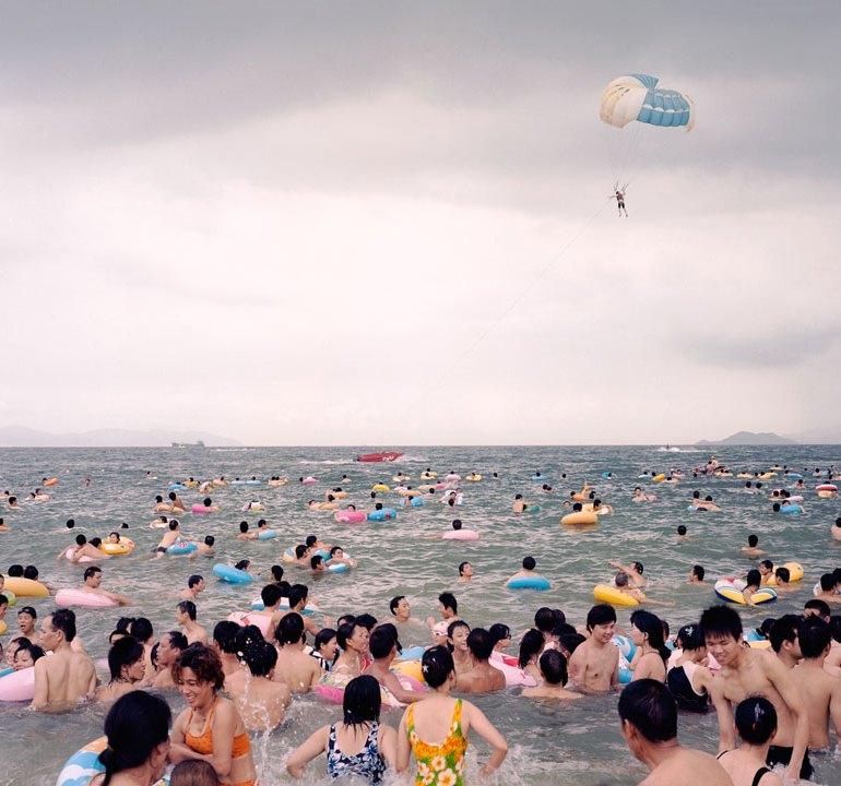 Civilisation, Zhang Xiao; Coastline No.2; 2009 Courtesy of Auckland Art Gallery