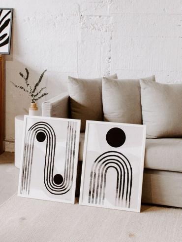 Curve Line Print – Papier HQ