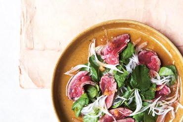 Beef Tataki Extracted from Japanese Food Made Easy by Aya Nishimura