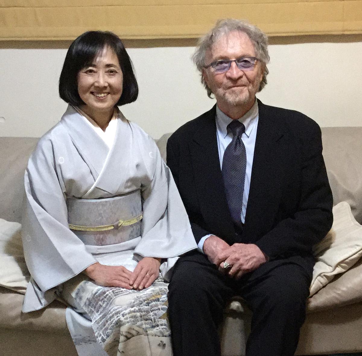 Akiko & Tim.
