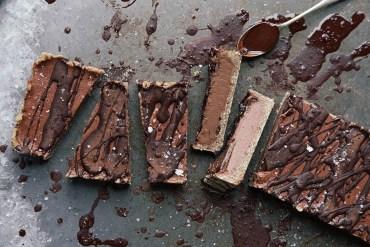 Sea Salt Dark Chocolate + Tahini Torte