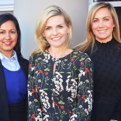 From left: Mobeena Hills (Branch manager Christchurch). Angela Parlane (Managing Director) and Natalie Tofilau (General Manager).