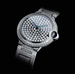Ballon Bleu de Cartier Vibrating Setting Watch