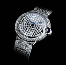 Ballon Bleu de Cartier Vibrating Setting Watch