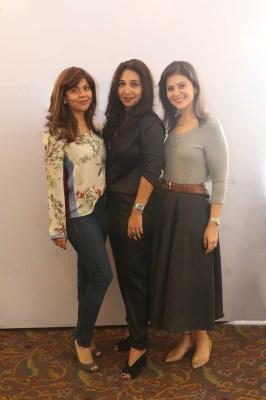 Tanaaz Bhatia, Nisha Jhangiani and Maneka Thadani