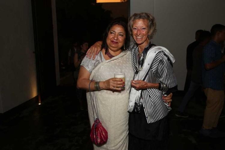 Anita Lal and Loulou Van Damme