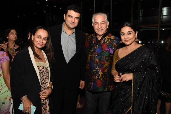 Soni Razdan, Siddharth Roy Kapoor, Dalip Tahil and Vidya Balan