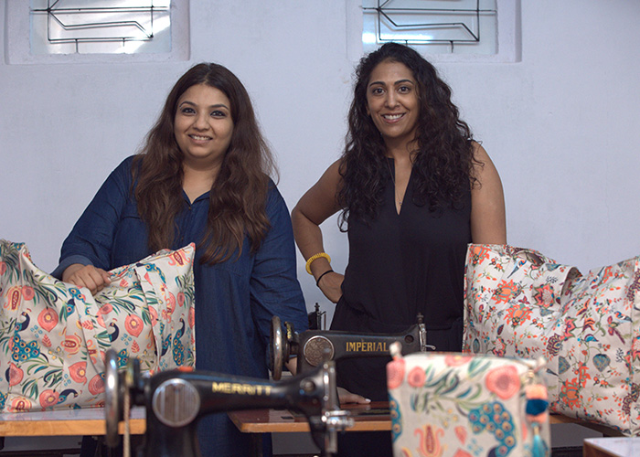 Left to right: Payal Singhal and Megha Desai
