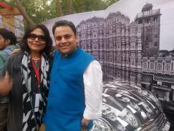 Verve's Arti Sarin and Mahindra Group's Jay Shah