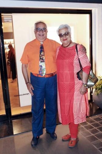 Jamal and Pravina Mecklai