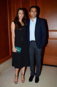 Gayatri Oberoi and Vicky Oberoi