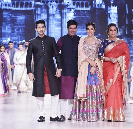 Armaan Malik, Manish Malhotra, Sophie Choudry, Shabana Azmi