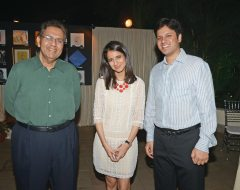 Dilip Piramal, Anand and Radhika Goenka