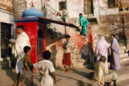 Morning on Panchganga Ghat, Benares