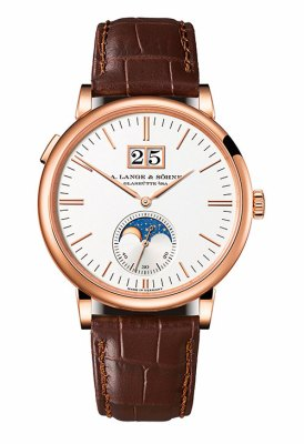 Saxonia Moon Phase (rose gold)