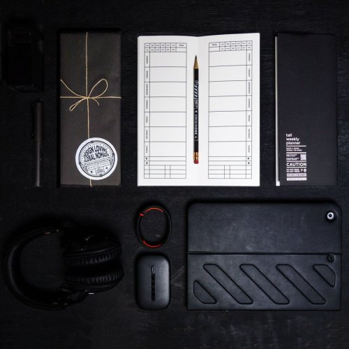 Tall weekly planner set