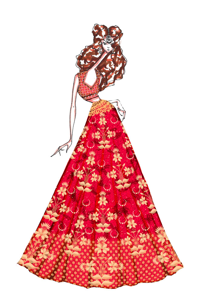 Preview Anita Dongre S Epic Love Collection At Icw 2016 Verve Magazine