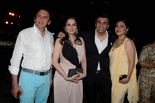 Kailash and Aarti Surendranath, Sanjay and Ina Arora