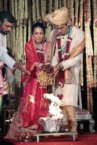 Aarti Kochhar and Aditya Kaji