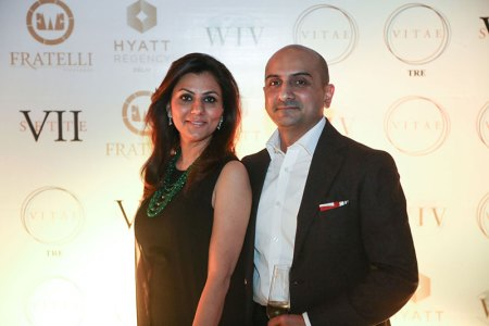 Aarti and Gaurav Sekhri