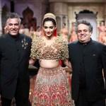 Abu Jani Sandeep Khosla for BMW india bridal fashion week Abu Jani, Sonam Kapoor, Sandeep Khosla