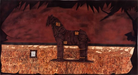 Trojan horse and one lakh ten thousand conversations