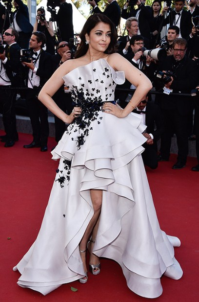 f9d3c23946 Aishwarya Rai Bachchan electrified the Cannes red carpet this year as she  added a dose of sexy to her usually classic style. The Ralph and Russo  Haute ...
