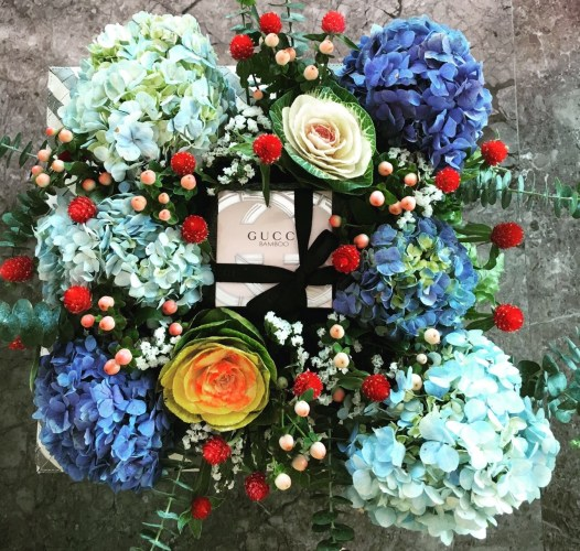 All about flowers box