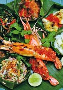 Balinese feast