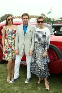Amber Le Bon, Simon and Yasmin Le Bon