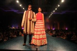 Amitabh Bachchan, Shweta Nanda