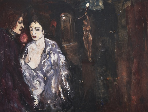 Artwork by Amrita Sher-Gil at Akara Art, Mumbai