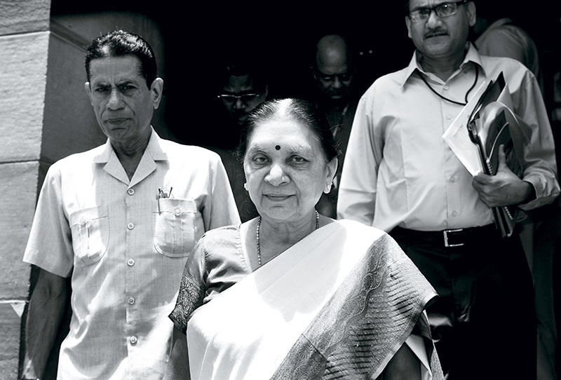 Anandiben Patel, Chief Minister of Gujarat