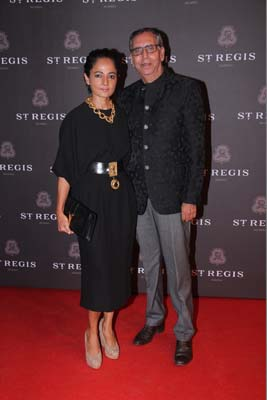Sabina and Anil Chopra