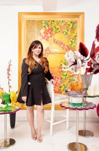 Anjallee Kapoor: flowers and fashion
