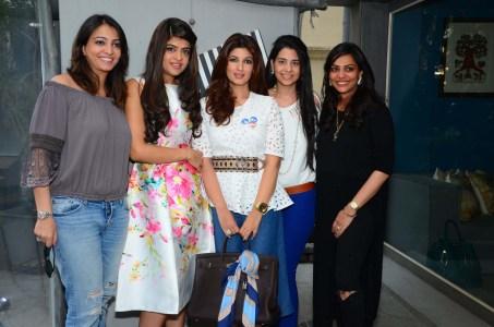 Anjori Alagh, Laila Motwane, Twinkle Khanna, Smriti Mehra, Deval Sanghvi