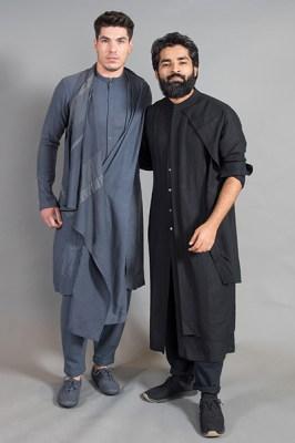 Ujjawal Dubey (right)
