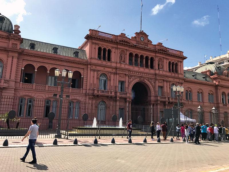 La Casa Rosada, Argentina, Buenos Aires