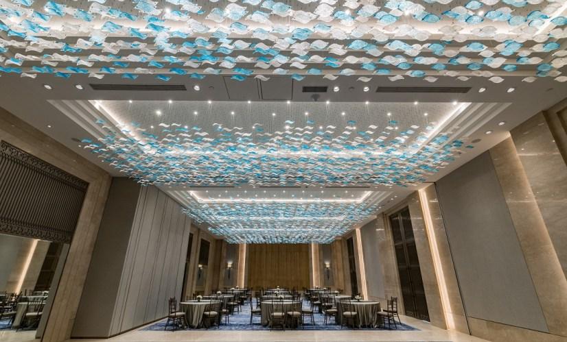 The Ballroom Sea of Blue at Lodha World Towers