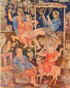 Sakti Burman for Art Alive Gallery