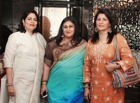Verve's Arti Sarin, Anshu Khanna, Sadhana Baijal