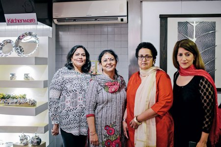 Verve's Arti Sarin, Swati Ganguly, Verve's Shraddha Jahagirdar-Saxena, Anjali Khanna