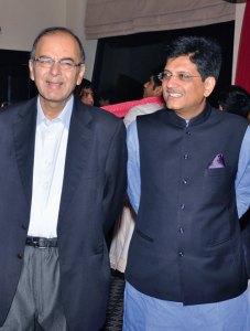 Arun Jaitley, Piyush Goyal