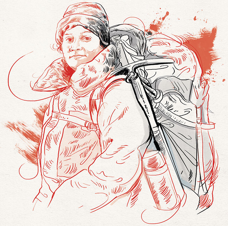 Arunima Sinha, Mountaineer